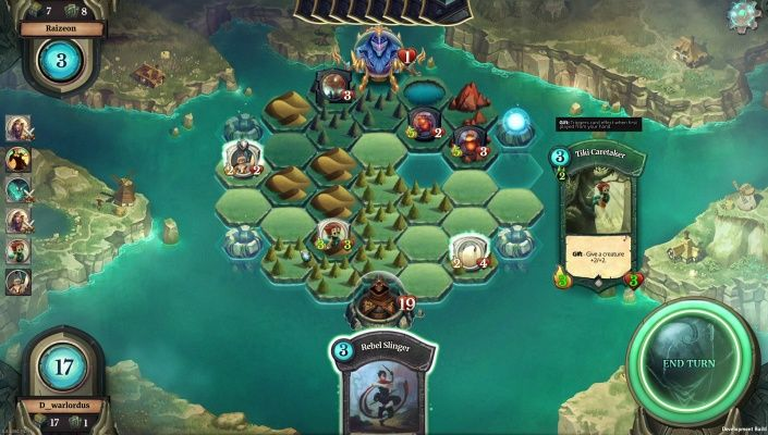 Faeria is a Free 2 Play, Strategy Multiplayer Card Game CCG, and puts a