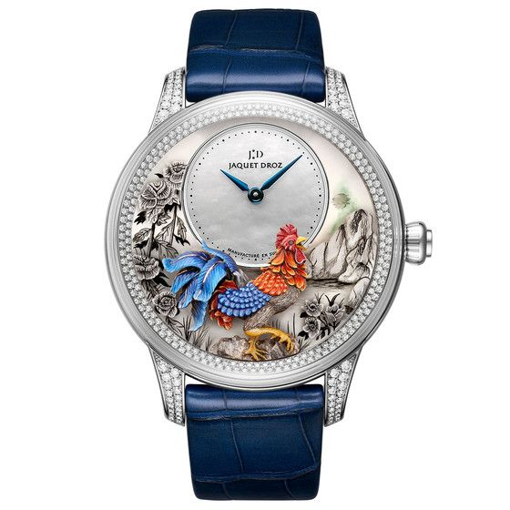 Jaquet-Droz [NEW][LIMITED EDITION 8 PIECE][全新限量8支] Chinese Rooster 2017 White Gold Diamond J005024282 (Retail:CHF 75800) ~ EXCLUSIVE OFFER: HK$409,800.   #JD #JAQUETDROZ #JAQUET_DROZ #CHINESEROOSTER #JDCHINESEROOSTER  #JAQUETDROZCHINESEROOSTER #JDLIMITED #JDROOSTER #JAQUETDROZROOSTER #J005024282
