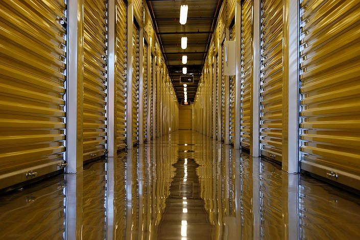 Epoxyfloors Storage Unit Commercial Floors By National Concrete Polishing Flooring Contractor Concrete Floors Epoxy Floor
