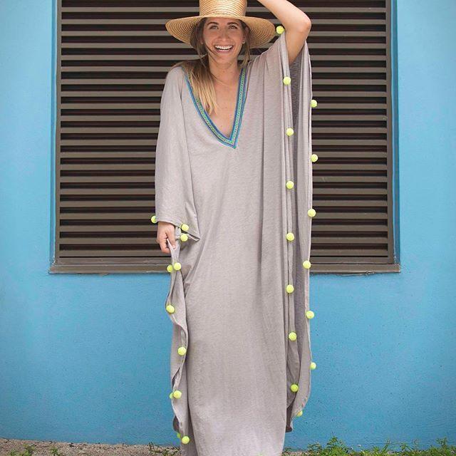Arteboheme In The Pom Pom Sevillana Link In Bio Pitusa Kaftan Pitusa Fashion Shopping