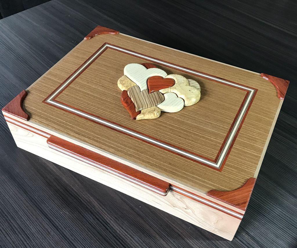 All my hearts combination puzzle box in 2020 puzzle box