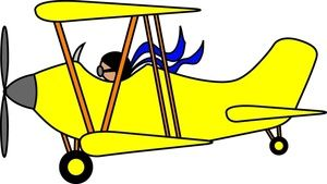 airplane cartoon clip art biplane clip art images biplane stock rh pinterest com airplane clipart border airplane clipart no background