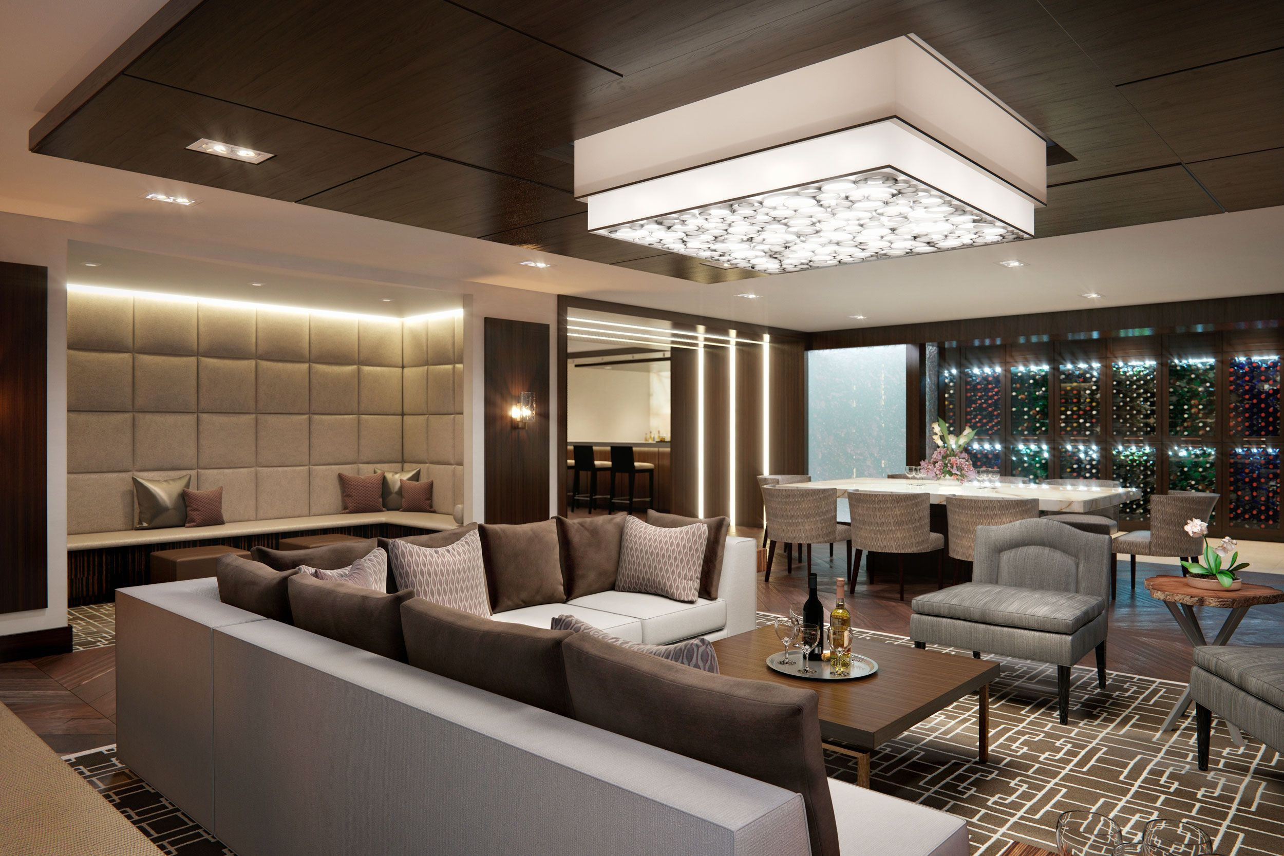 The Lauren Residences Features Direct Access Elevators Nine And Ten Foot Ceilings Private Roo Condo Interior Design Condo Interior Condo Interior Design Small