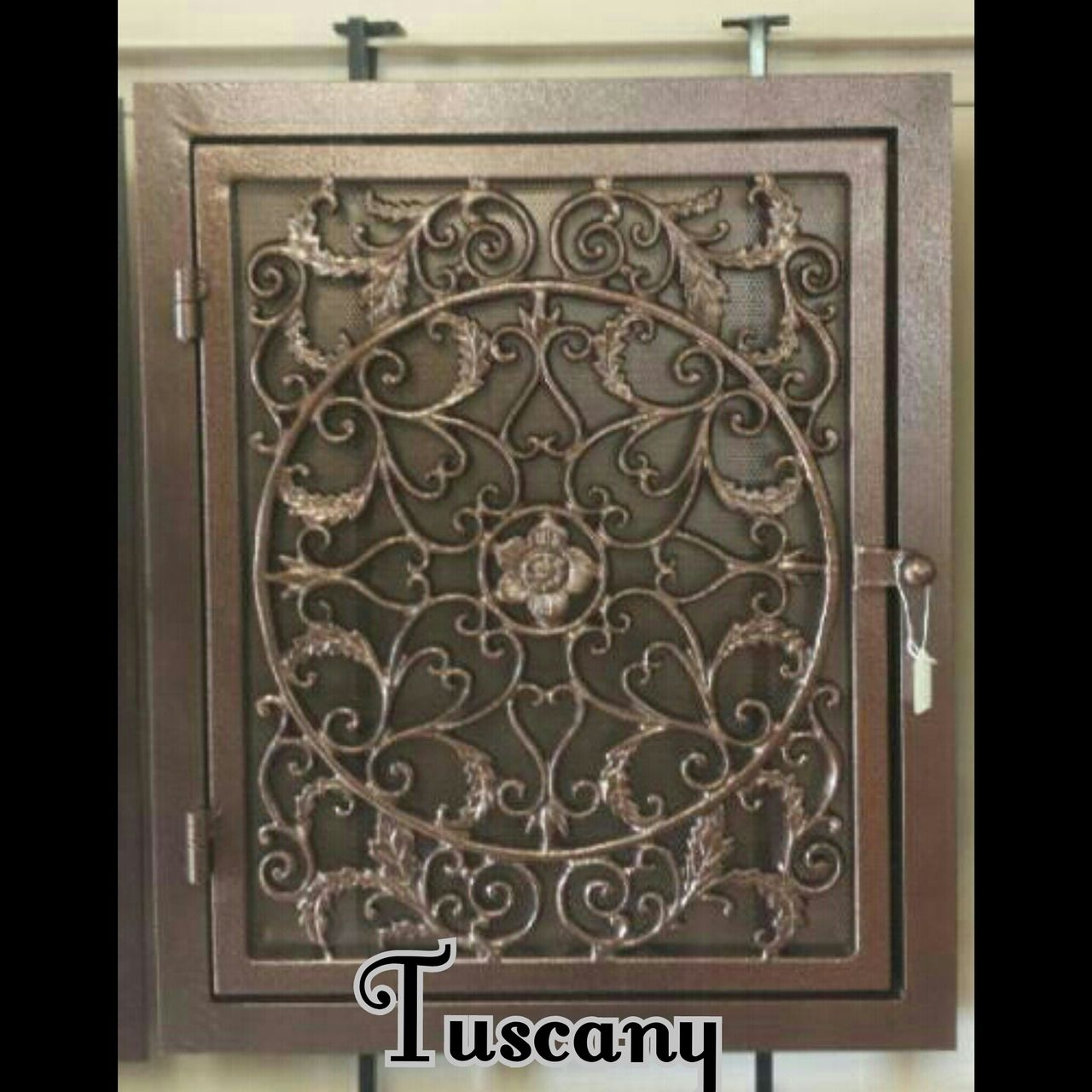 Tuscany Handmade Wrought Iron Return Air Filter Frame