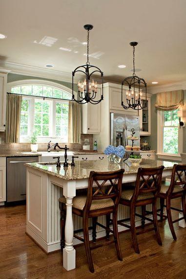 Kitchen Breakfast Bar – Countertop Height or Bar Height?   Kitchen ...