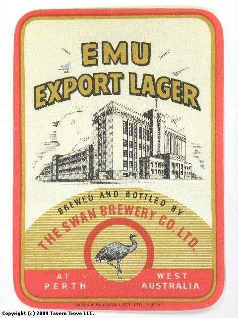 Brewery Issue,Western Australia BEER COASTERS 25 different EMU Beer
