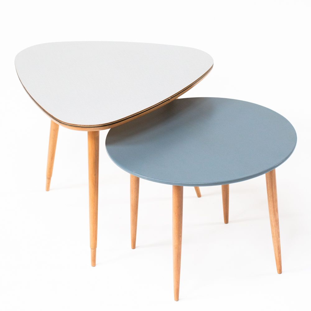 tables tripodes annes 50 connie et tati