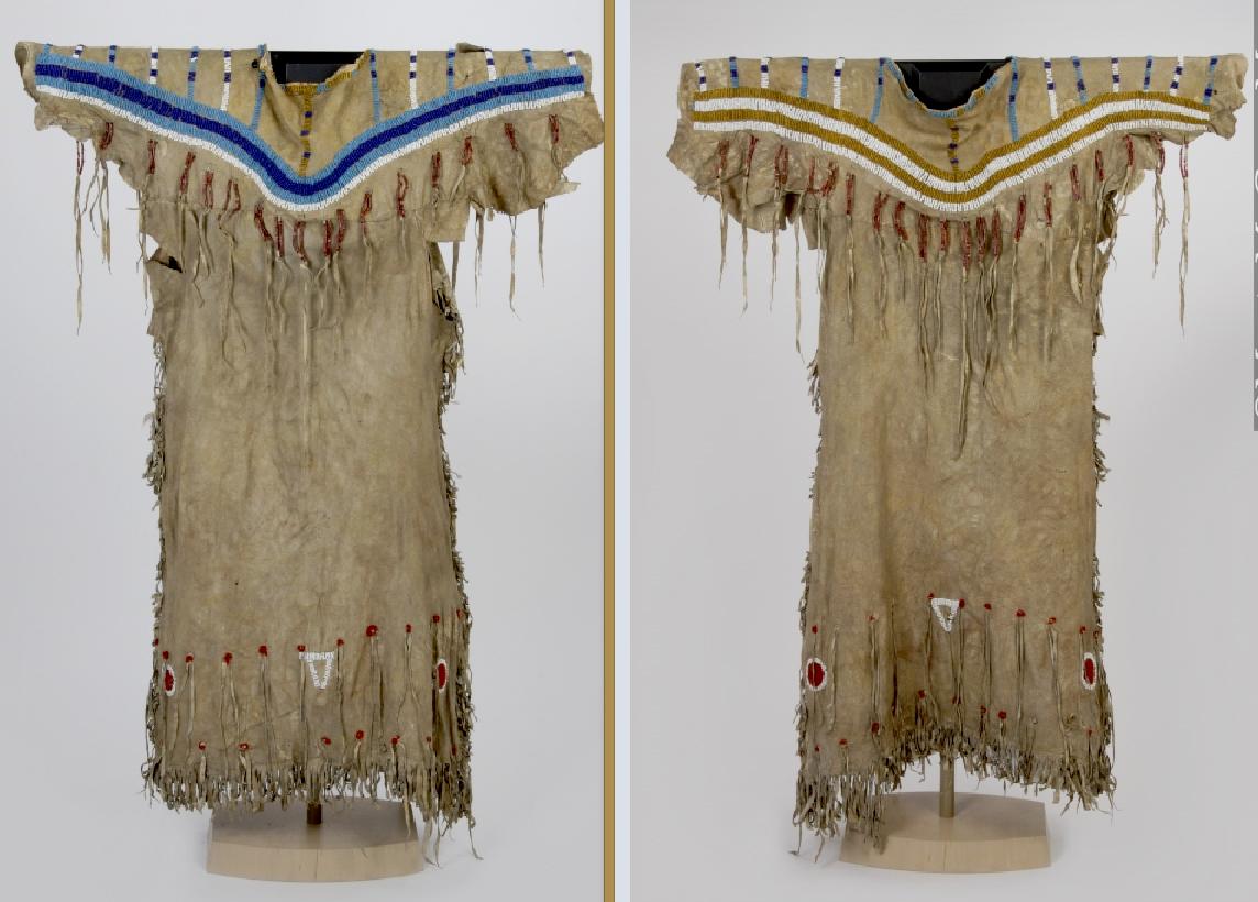 Blackfoot dress, McCord Mus  ac