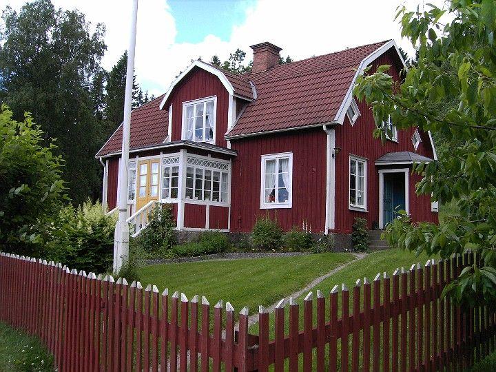 Schwedenhaus in l nneberga schweden charme pinterest for Skandinavien haus bauen