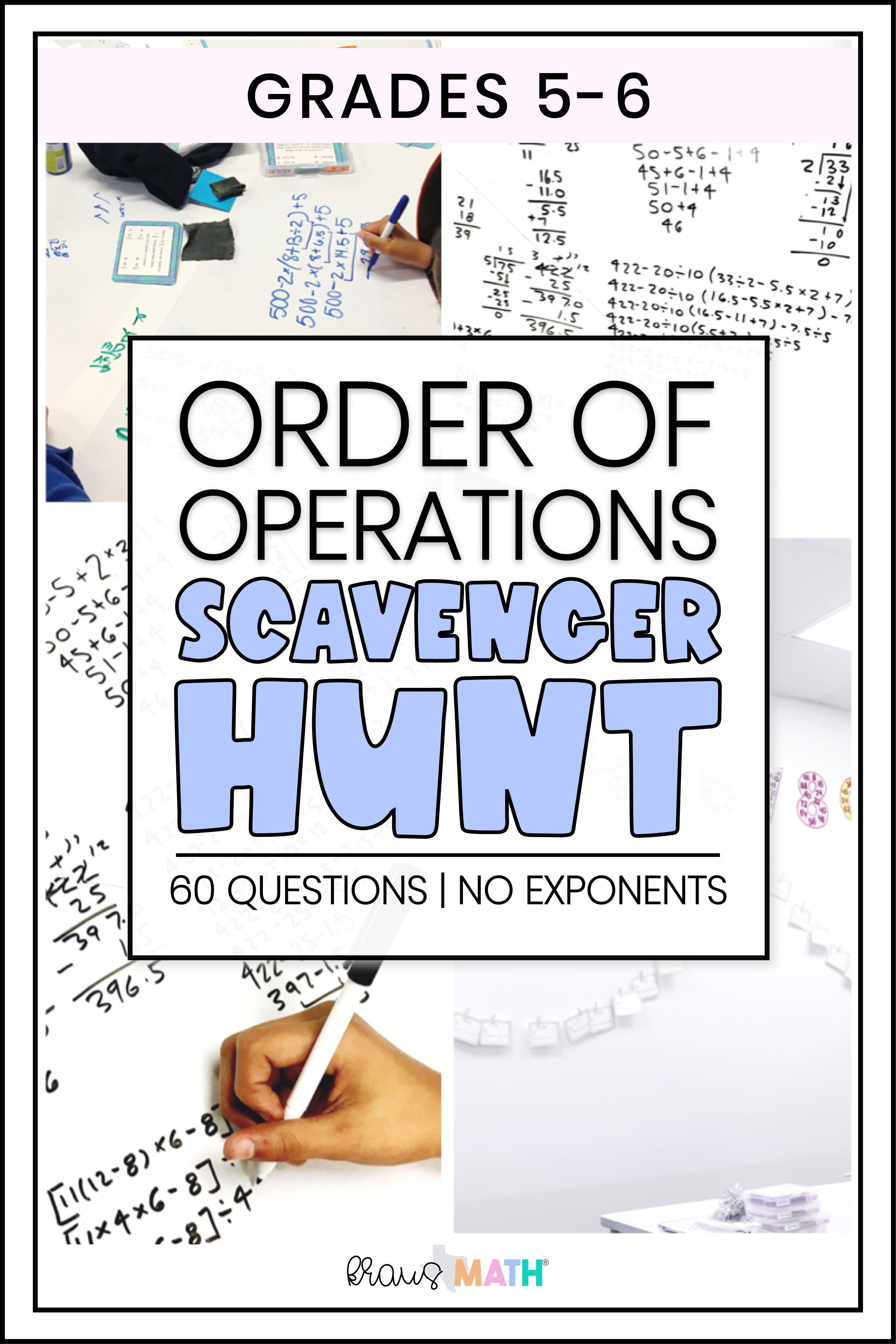 Order Of Operations Self Check Worksheets Teks 5 4f Kraus Math Order Of Operations Math Interactive Notebook Math Interactive [ 4592 x 3063 Pixel ]