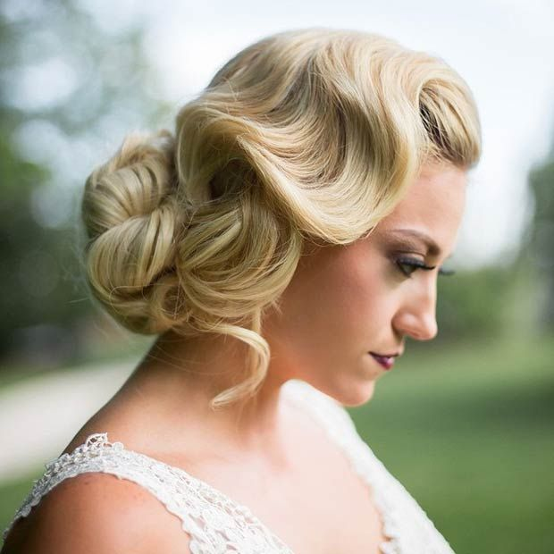 Old Fashioned Wedding Songs: 28 Trendy Wedding Hairstyles For Chic Brides