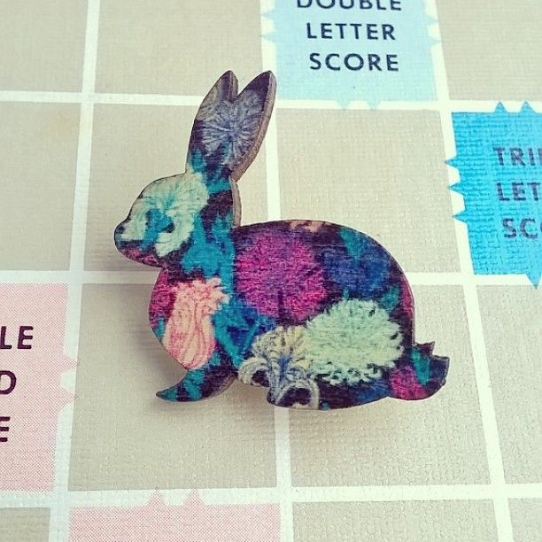 Perfect little easter gifts available over in our etsy shop perfect little easter gifts available over in our etsy shop wooden rabbit brooches 4 each available in eight different designs httpift1fd2xmi which negle Image collections
