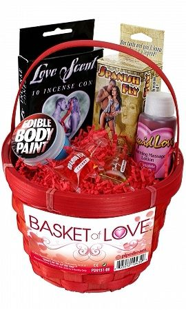 Erotic treat basket