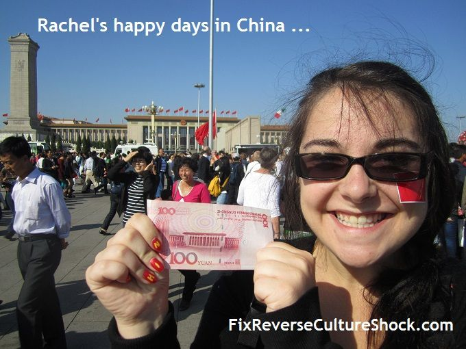 Rachel Elizabeth on reverse culture shock after 18 months in China