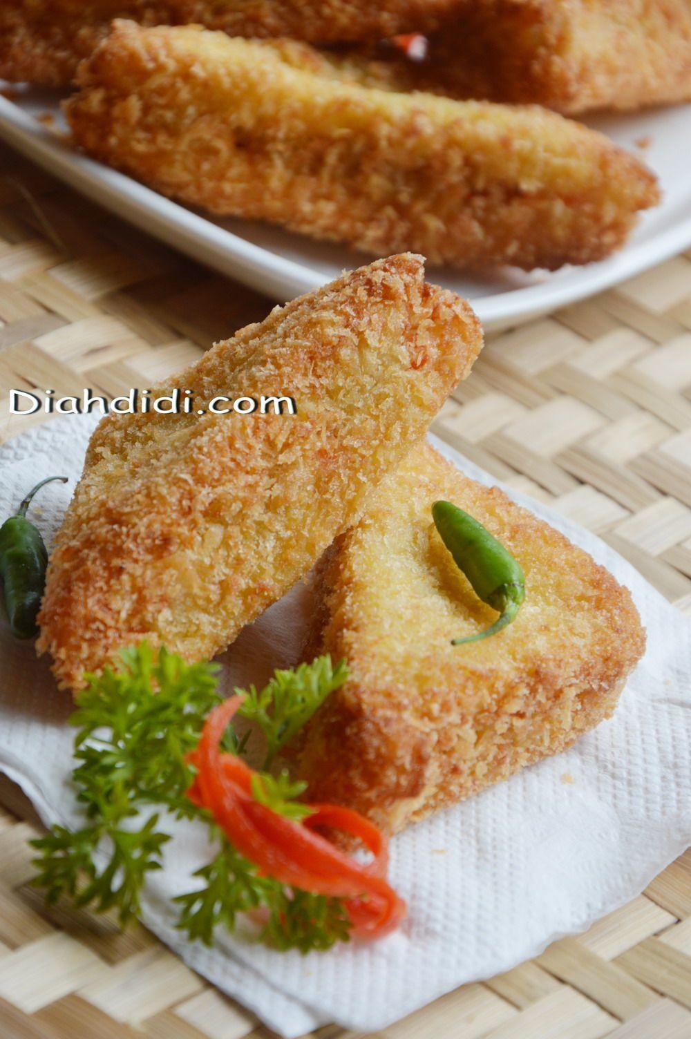 Diah Didi S Kitchen Memanfaatkan Stock Roti Tawar Menjadi Snack Enak Roti Goreng Isi Ragout Resep Masakan Makanan Dan Minuman Ide Makanan