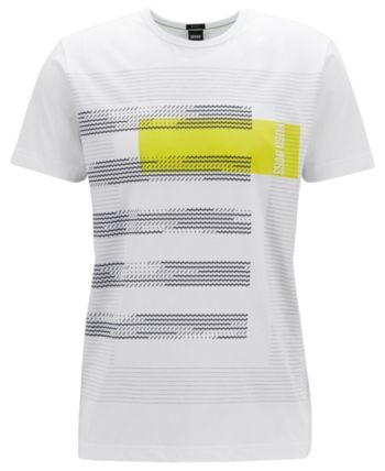 2aaf115a6 Boss Men's Graphic Cotton T-Shirt - White L in 2019 | Products ...