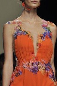 Milan Spring 2014 - Alberta Ferretti details 3