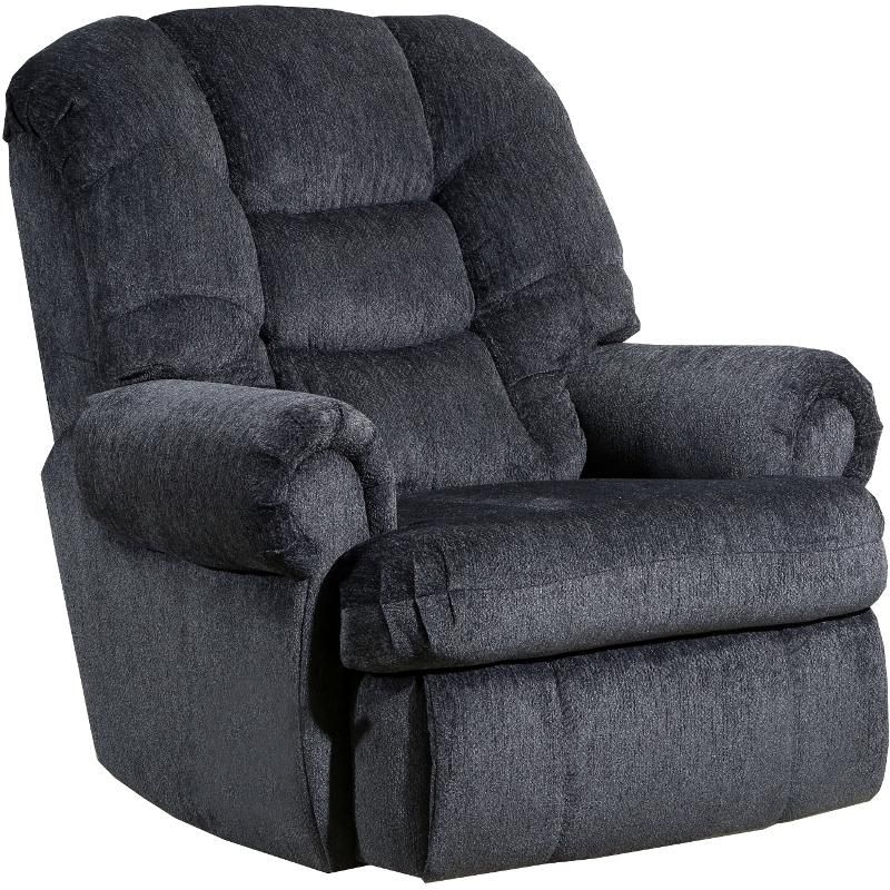 Best Charcoal Gray Big And Tall Power Rocker Recliner Torino 400 x 300