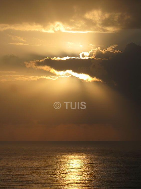 Nascer do sol em Salvador (BA).