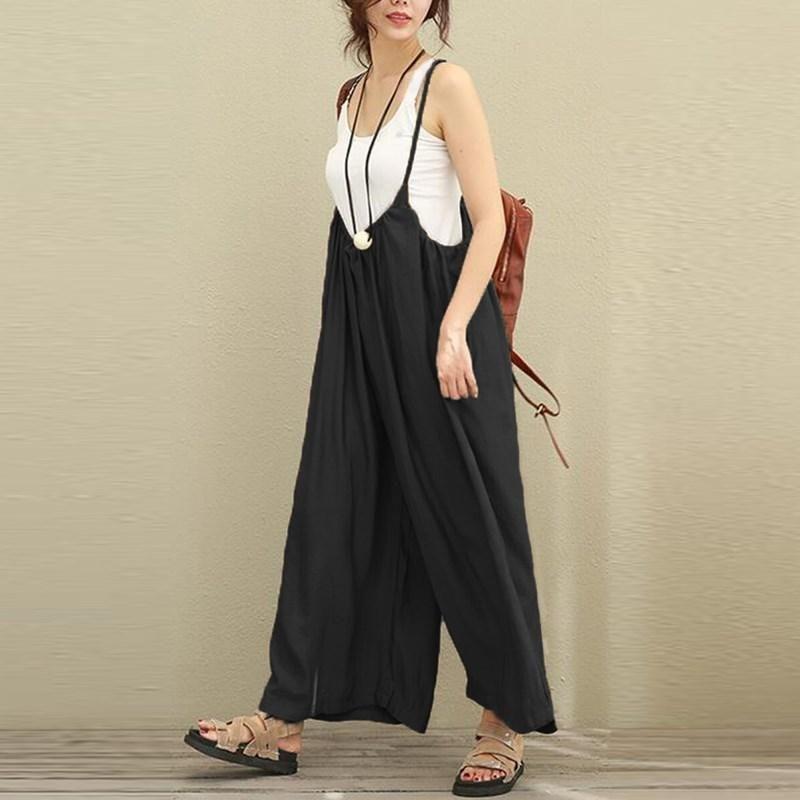 3c1ea3f2b230 Peace Seeker Overalls (2 Colors) White Romper Pants