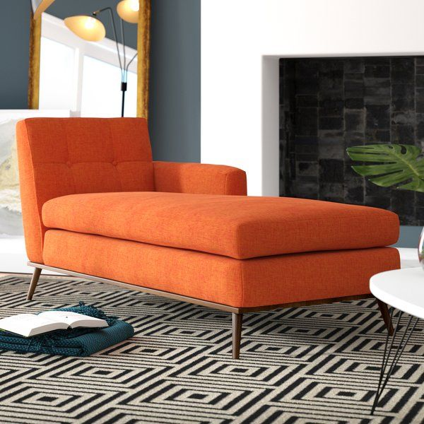 Modern Furniture 2014 Clever Furniture Arrangement Tips: Charlcombe Mid Century Chaise Lounge