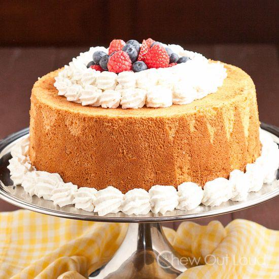 The Best Ever Angel Food Cake Recipe Angel food cakes Food