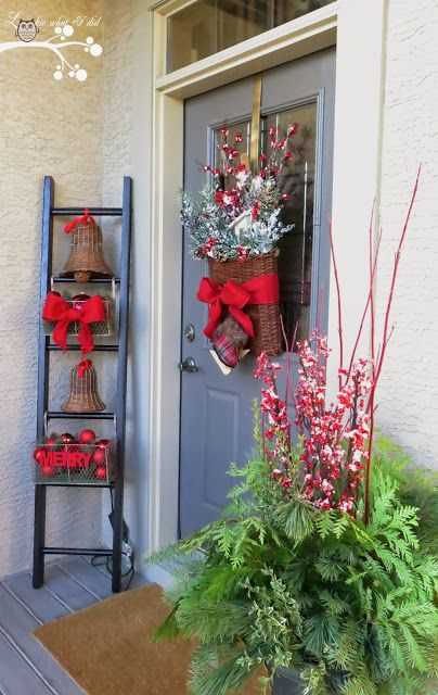 Our Christmas Porch