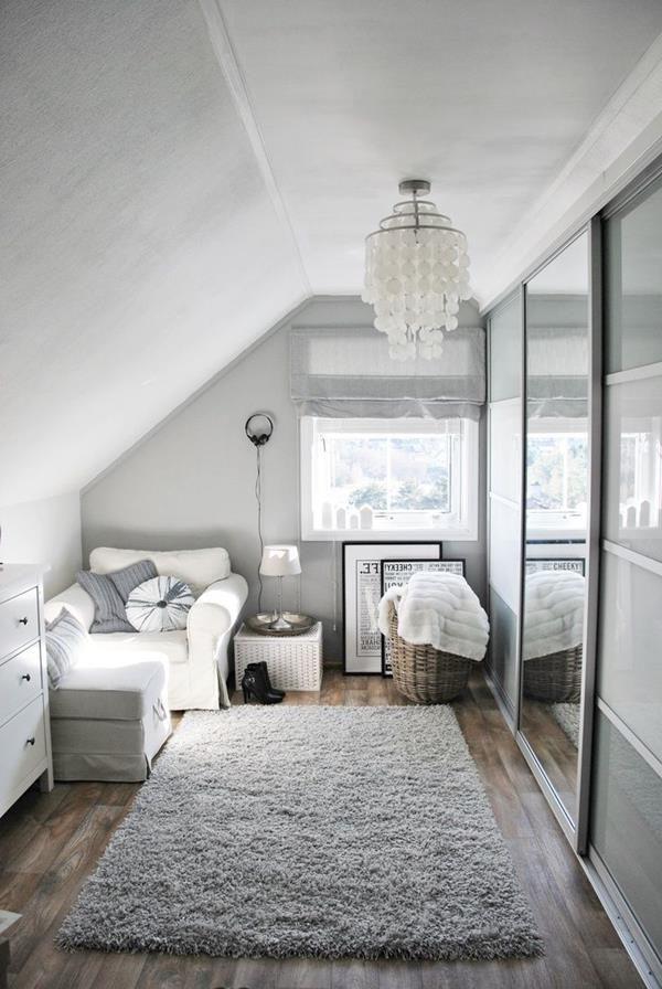 Elegantes Ankleidezimmer In Weißer Farbe Ankleide Zimmer