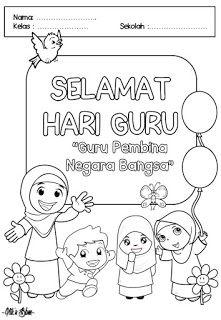 Tulisan Selamat Hari Guru : tulisan, selamat, *NIK*, Poster, Mewarna, Selamat, Guru,, Centers, Kindergarten,, Teachers'