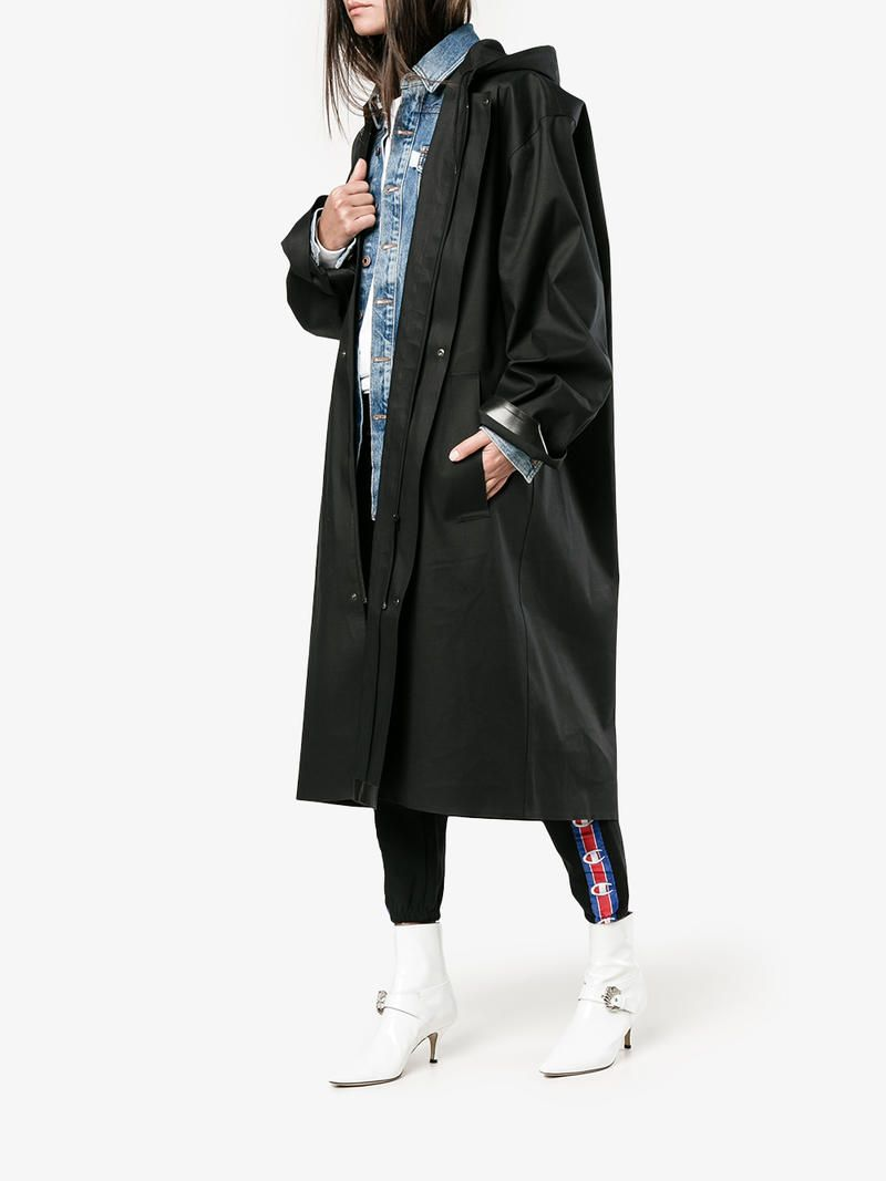 beautiful style compare price detailed look X Mackintosh Oversized Hooded Raincoat with Logo | Vetements ...