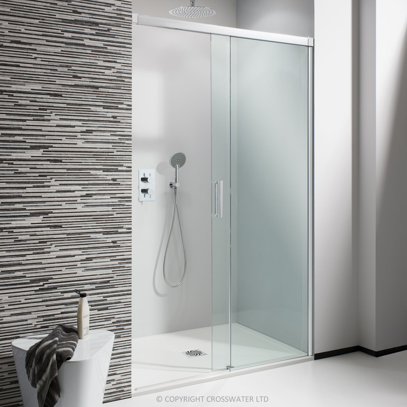 Simpsons 1200mm Design Semi Frameless Soft Close Slider Sliding Shower Door Shower Doors Shower Enclosure