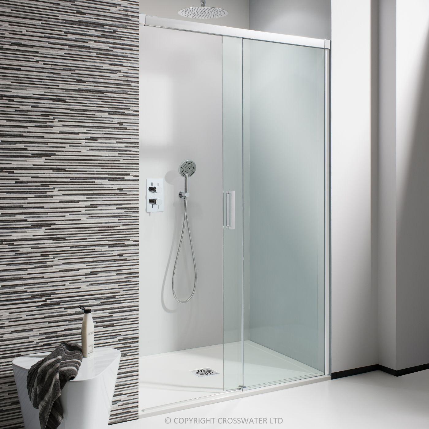 Simpsons 1200mm Design Semi Frameless Soft Close Slider Sliding Shower Door Shower Doors Shower Enclosure
