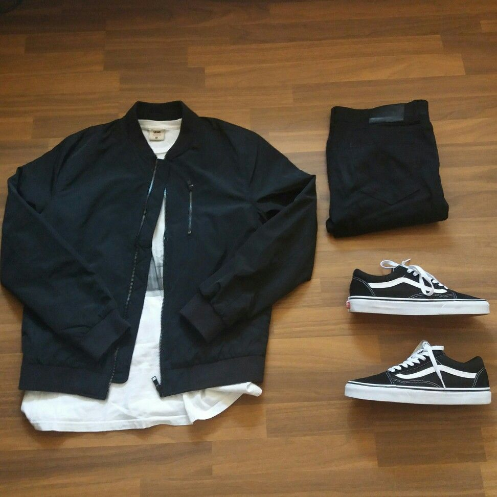 Vans old skool outfit men  be6058944b4
