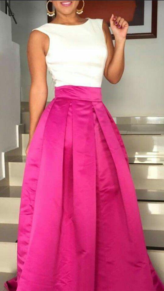 Pin de chelina en Atuendo | Pinterest | Falda, Vestidos de fiesta y ...