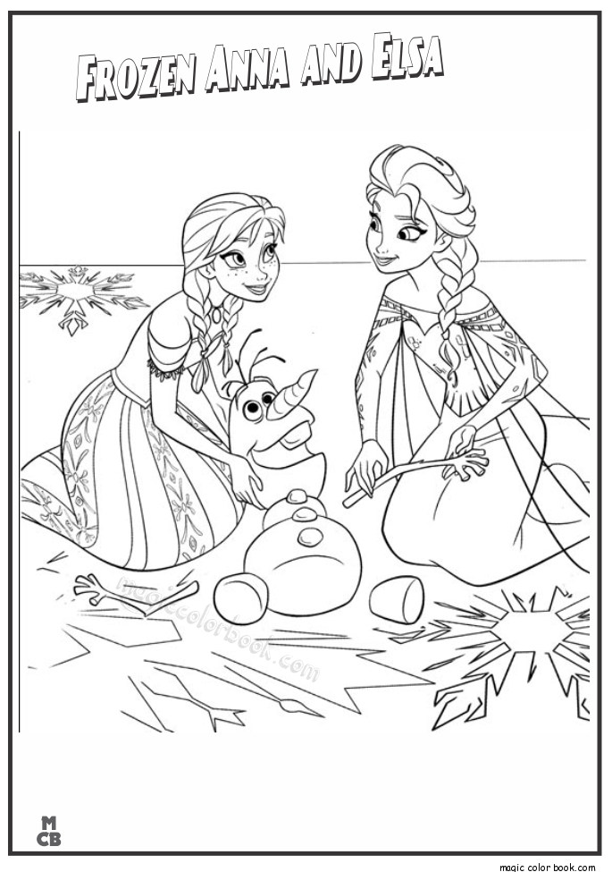 Pin by Magic Color Book on Frozen Coloring pages | Pinterest | Elsa ...