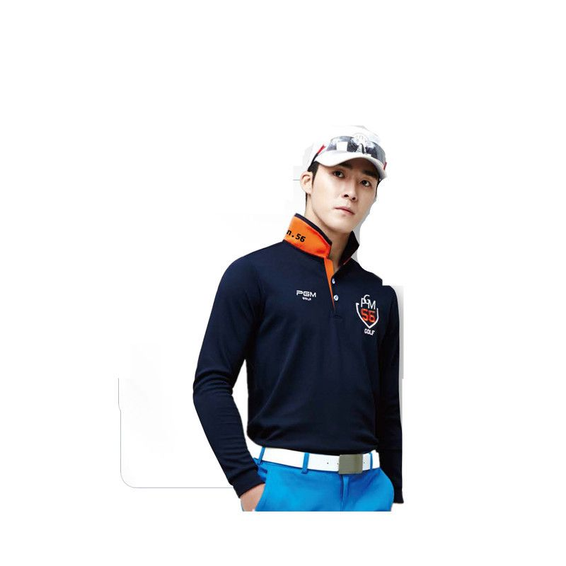 da527fc3 PGM Brand Mens Outdoor Fit Polomens Golf Polo Shirts Quick Dry Long Sleeve  Golf T-