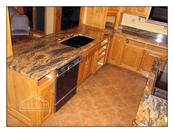 Magma Gold Granite Wexford Sewickley Butler Cranberry Twp Gold Granite Countertops Granite Countertops Countertops