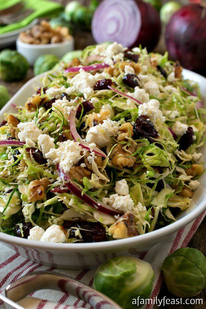 Shaved Brussels Sprout Salad Recipe Brussel Sprout