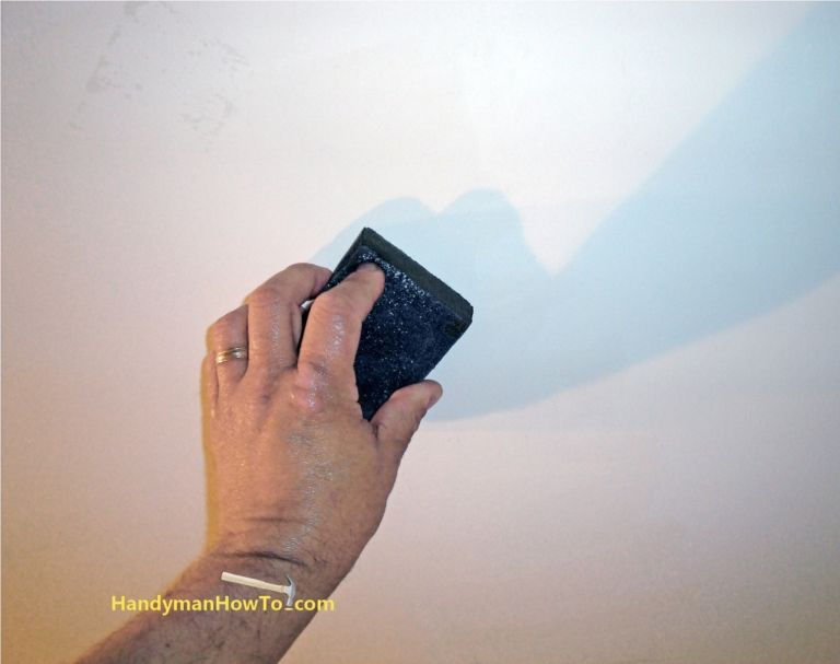 Drywall Repair Finishing Wet Sanding Drywall Drywall Repair Repair