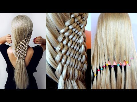 😱 New Twisted Hairstyle for wedding and party || Rope Waterfall Braids | trending hairstyle