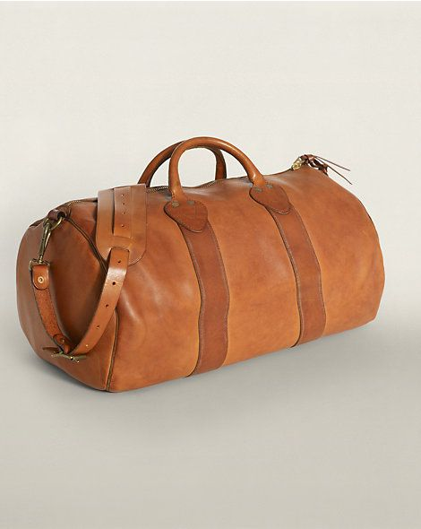 c7d8027a957 Leather Rockport Duffel - Travel Bags Bags & Business Accessories -  RalphLauren.com