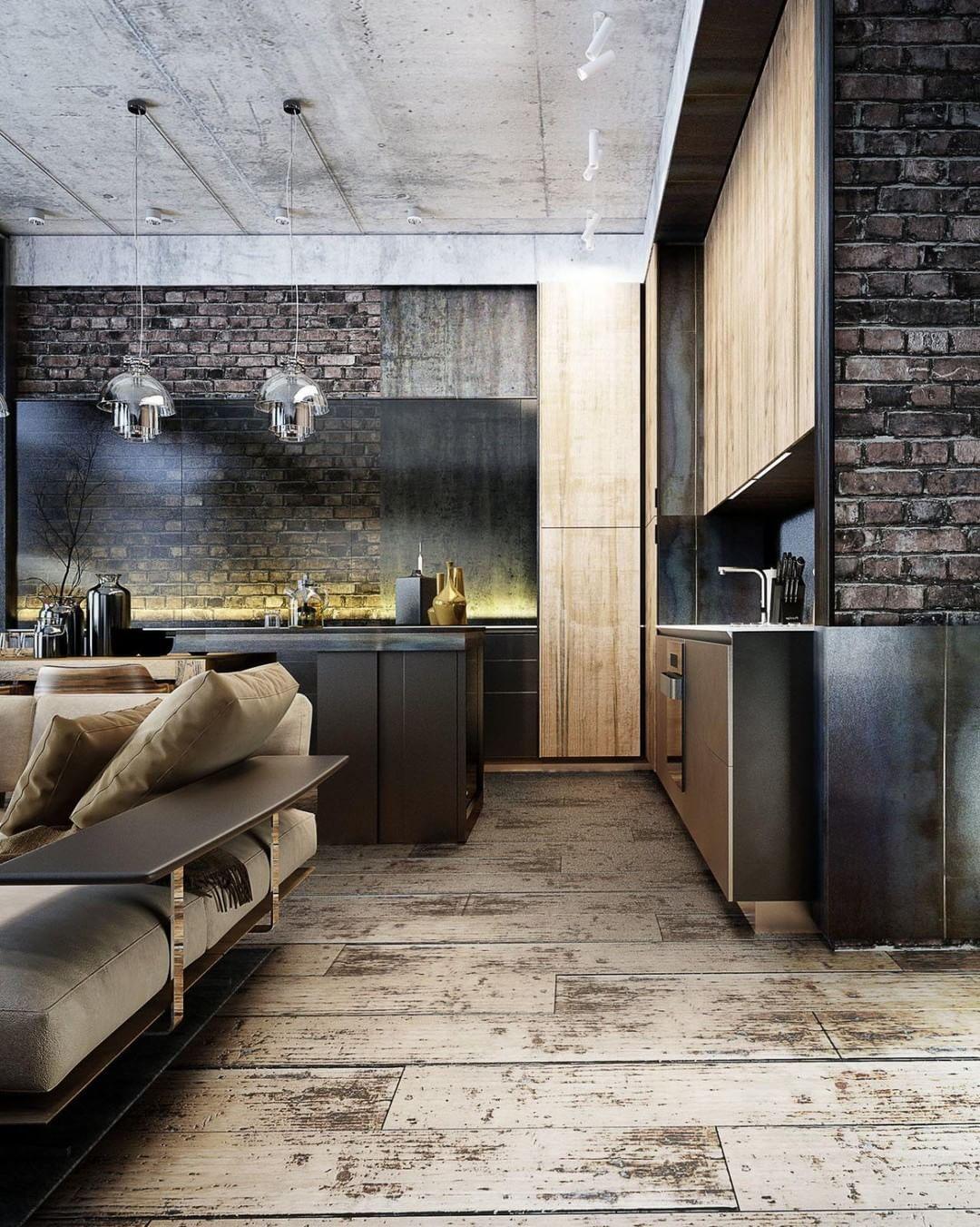 Open loft bedroom ideas  Pin by Alex Heyn on Haus  Pinterest  Loft design Open kitchens