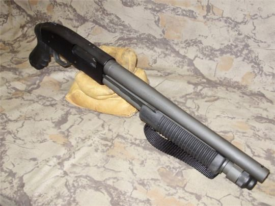 Mossberg 590A1 Security A discontinued variant of the 590A1