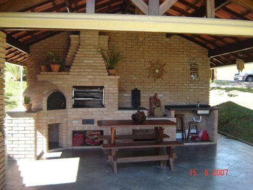 Completa perfecta barbacoa horno de le a y fregadero veranden terrassen dekoration - Horno de lena y barbacoa ...