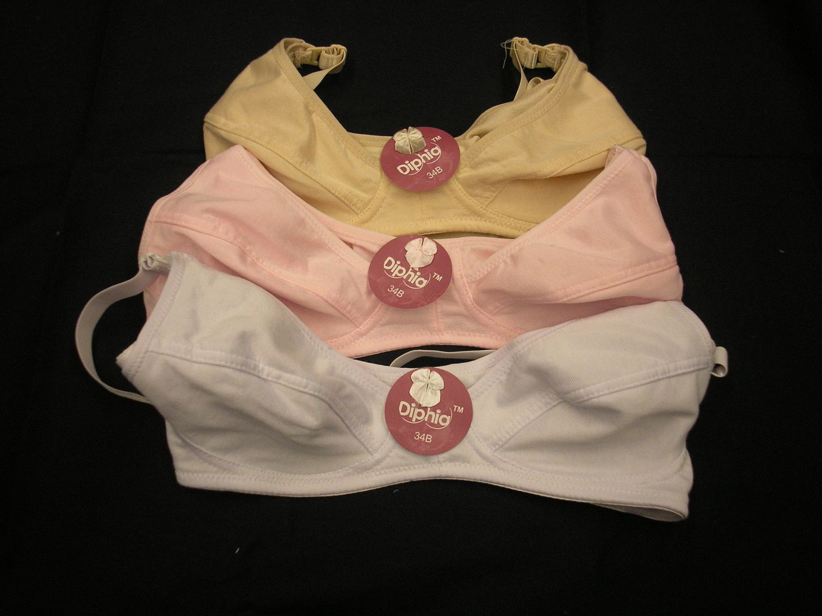 Diphia 3 Pack Maternity Bras only $9.50! (These bras were so affordable, yet comfortable that I would recommend to anyone!)
