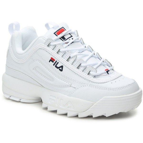 Fila Disruptor II Premium Sneaker - Women's Women's Shoes | DSW ($10) ❤  liked