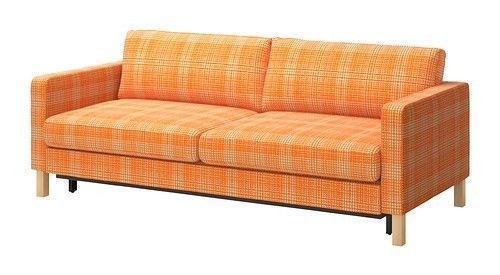 Phenomenal Ikea Karlstad Cover Sofa Bed Slipcover Husie Orange 502 547 Gmtry Best Dining Table And Chair Ideas Images Gmtryco