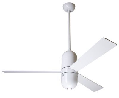 Design Within Reach Cirrus Ceiling Fan With Halogen Light With