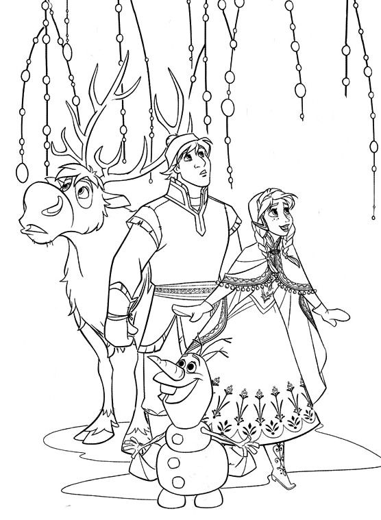 Coloriage reine des neiges divers frozen coloring - Coloriage de frozen ...