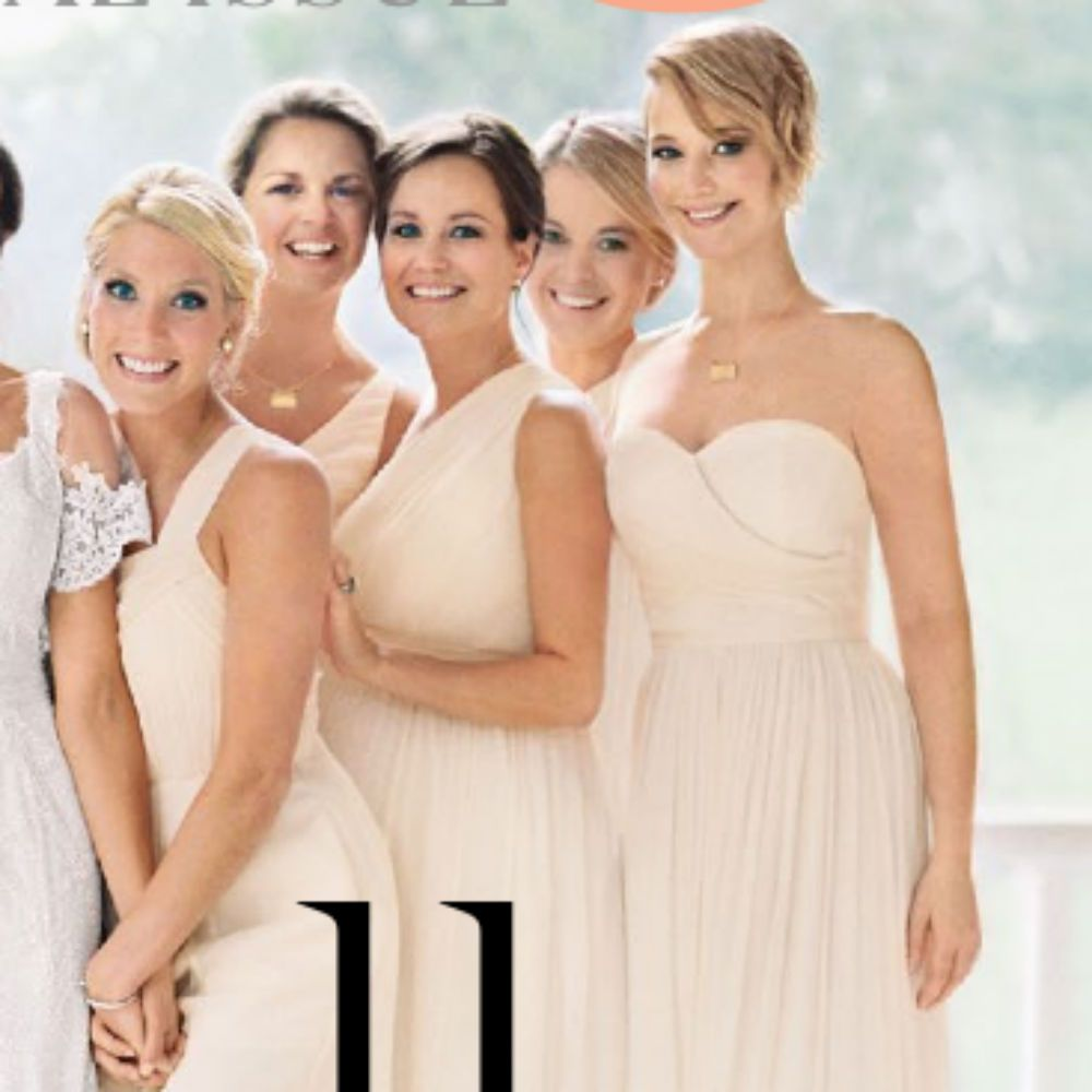 Jennifer lawrence wore a lovely jew bridesmaid dress for her bridesmaid jennifer lawrence wore a lovely jew bridesmaid dress ombrellifo Gallery
